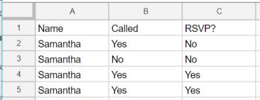 sample data no formatting