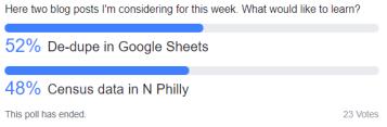 fb poll