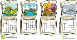 seasonal-calendars-set-four-each-season-41193567